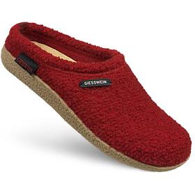Giesswein Veitsch Zapatillas de Casa, rojo